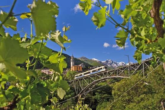 Centovalli Train © Centovalli-Bahn