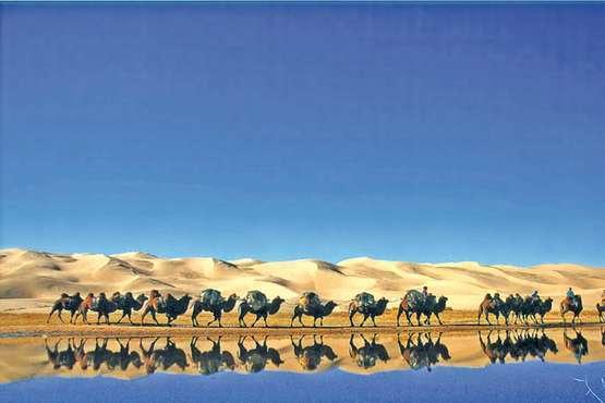 Mongolei Wüste Gobi © lernidee.de