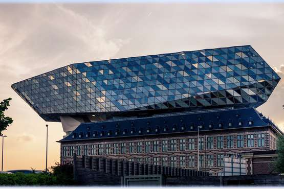 Neues Hafengebäude