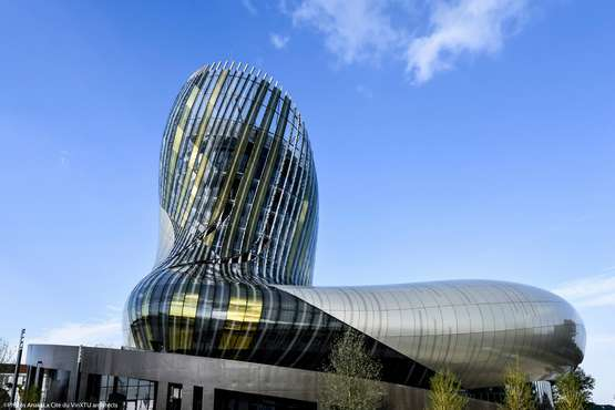 La Cité du vin © Photos Anaka/La Cité du Vin/XTU architects