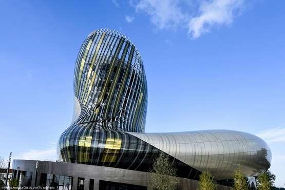 Die Cité du Vin © Photos Anaka/La Cité du Vin/XTU architects