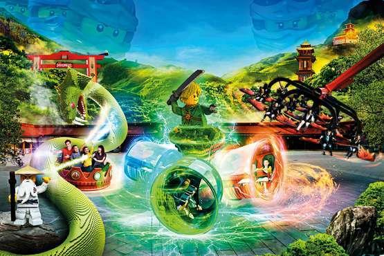 Lloyds Spinjitzu Spinner © LEGOLAND Deutschland