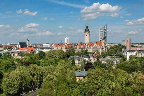 Leipzig Skyline © LTM PUNCTUM