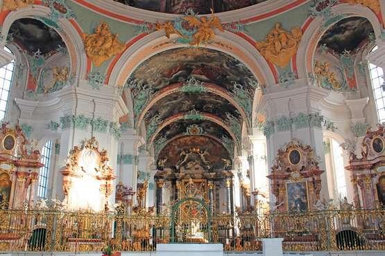 St. Gallen, Abbey District