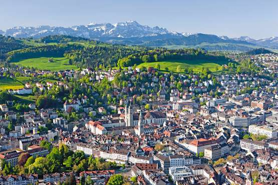 St. Gallen © Switzerland Tourism swiss-image.ch/Christof Sonderegger