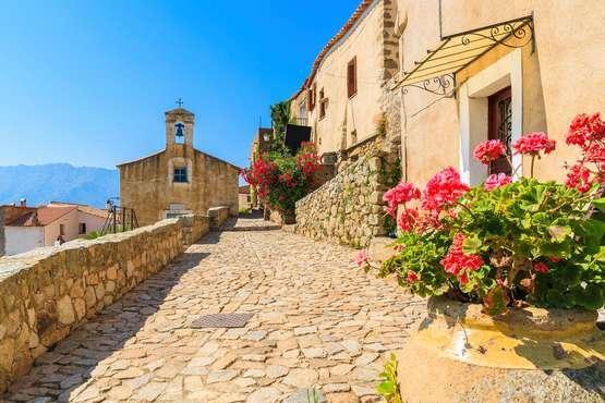San Antonino, village de Balagne