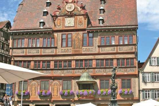 Marktplatz in Tübingen © erkehrsverein Tübingen / Herbert Schmid
