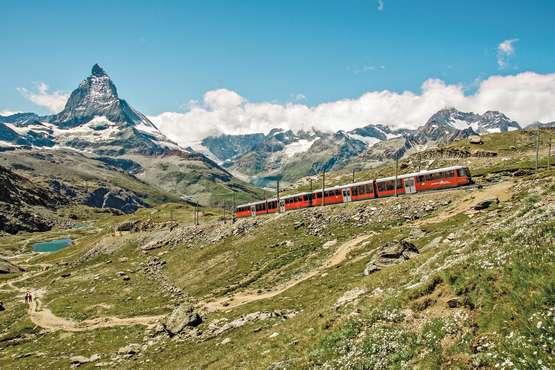 Gornergrat © Matterhorn Gotthard Bahn/swiss-image.ch/Toni Mohr