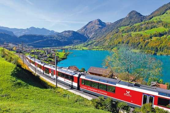 GoldenPass Line Luzern-Interlaken