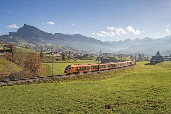 Voralpen-Express bei Nesslau © Südostbahn AG, 2019