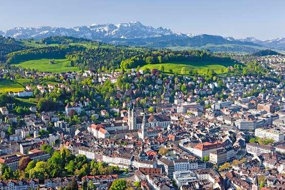 St. Gallen © Switzerland Tourism swiss-image.ch/Christof Sonderegger