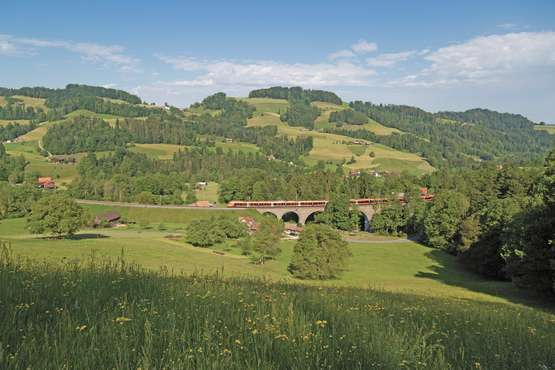 Voralpen-Express near Mogelsberg © Südostbahn AG, 2019