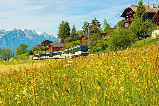 GoldenPass Line Zweisimmen-Montreux © GoldenPass - MOB
