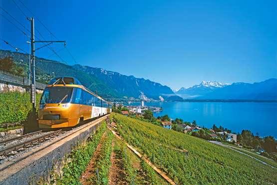 GoldenPass Line, Genfersee © GoldenPass - MOB/Swiss Travel System/ Maurice Schobinger