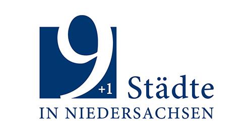 9 + 1 Städte in Niedersachsen