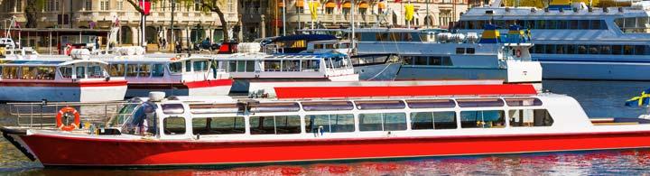 Stockholm en bateau
