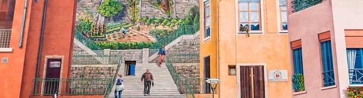 Le mur peint des Canuts