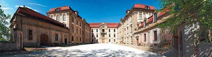 Schloss Schillingsfürst - das Barockschloss