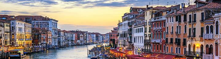 Venedig Spezial 10% Rabatt und gratis Upgrade 1. Klasse