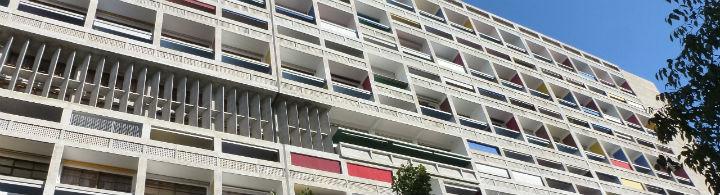 La Cité Radieuse du Corbusier