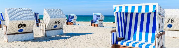 Les corbeilles de plage