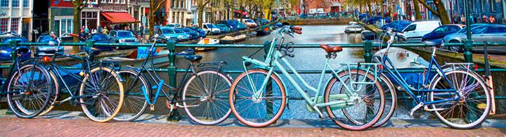 Stadt-Velotour in Amsterdam