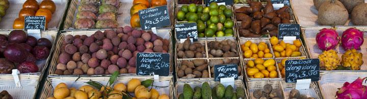 Visite gourmande du marché aux victuailles