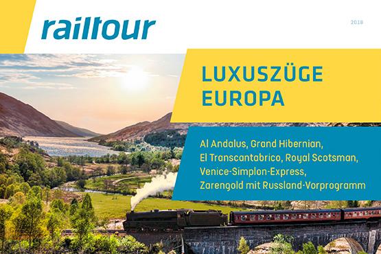 Luxuszüge Europa