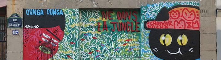 Street Art im 13. Arrondissement