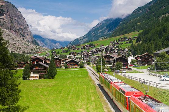 Brig - St. Moritz