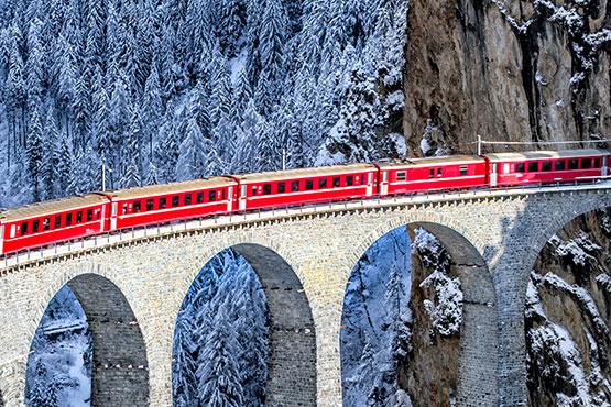 St. Moritz - Brigue