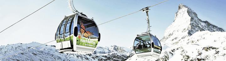 Panorama alpin de Zermatt