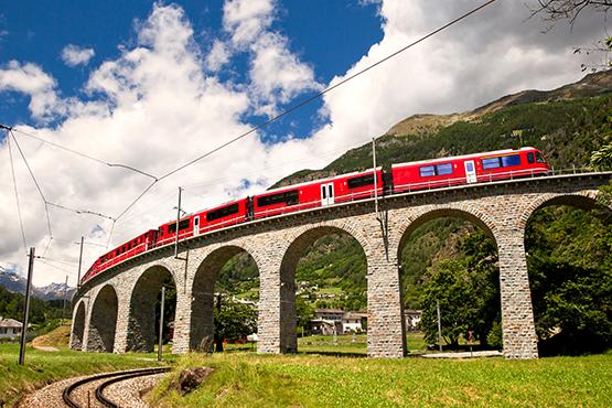Chur - Tirano - Lugano