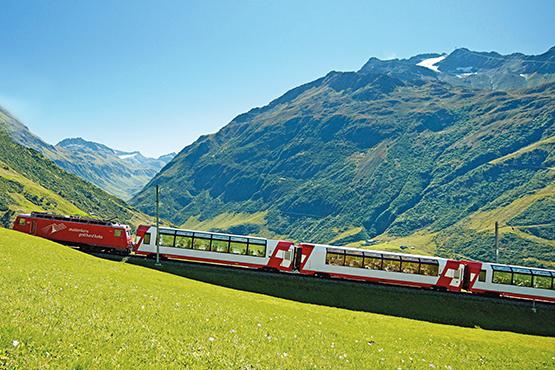 Weitere Reisevarianten «Glacier Express»