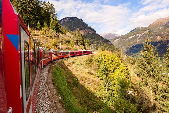Weitere Reisevarianten Glacier Express
