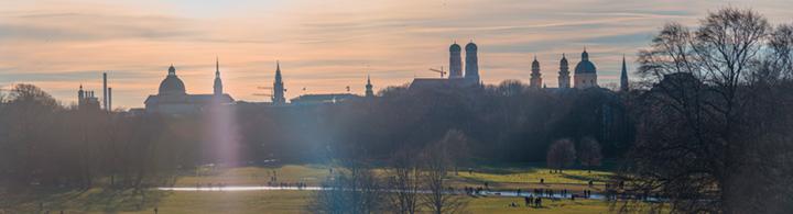 Der Englische Garten, grüne Lunge von München