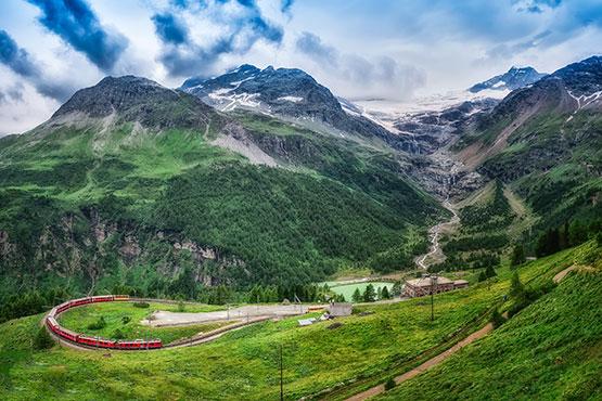 Von Chur nach Tirano + Lugano