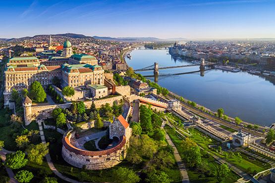 Venedig – Budapest – Paris