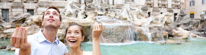 Fontana di Trevi – eins, zwei oder drei?