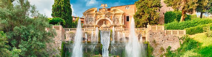 Villa d'este – les jardins des merveilles à tivoli