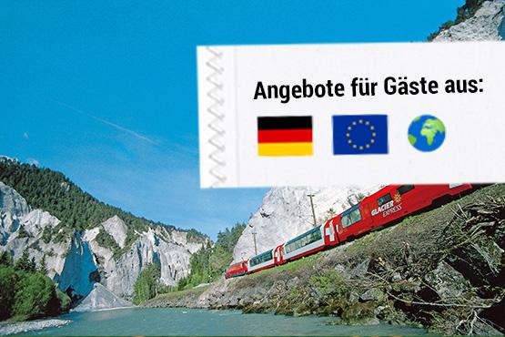"Grand Train Tour – ""Classic"" inkl. Jungfraujoch"