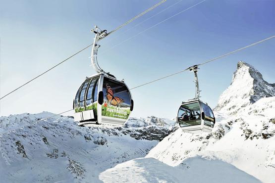 Matterhorn Gletscher Paradies