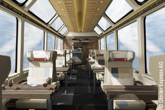 Die Glacier Express Excellence Class
