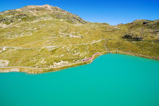 Lago Bianco - Weisser See