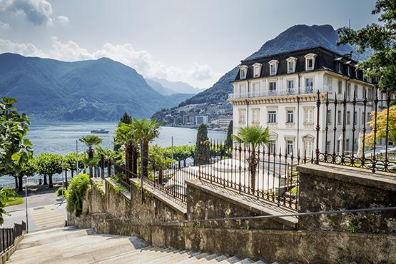 Séjour à St. Moritz et Lugano