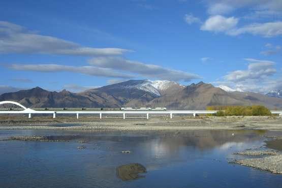 Tibet-Bahn
