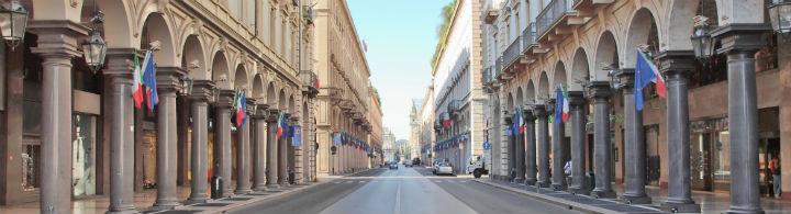 Shopping à Turin