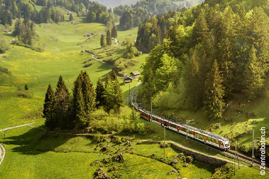 Grand Train Tour – <br/>Gletscher & Palmen<br/>