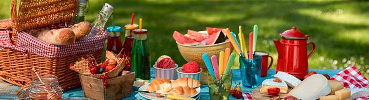 Picknicken im Park