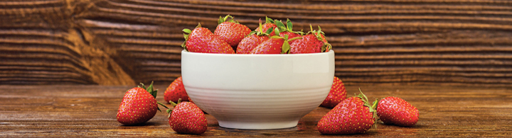 Erdbeer Zug